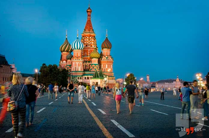 Россия, Москва. CC0