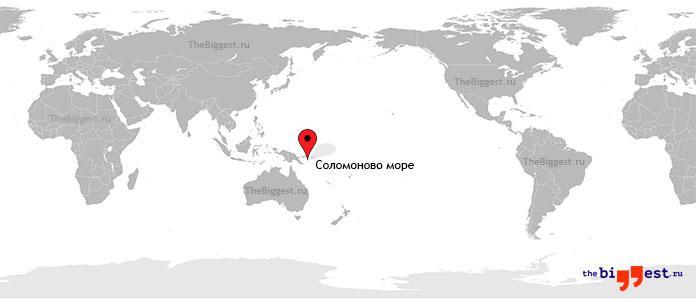Соломоново море