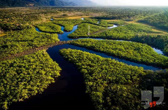 Очень глубокие реки: Амазонка
