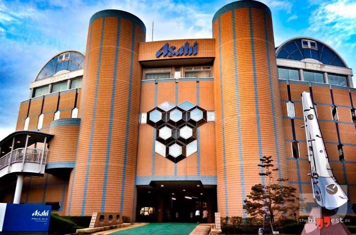 Самые большие пивоваренные компании: Asahi. Япония. СС0