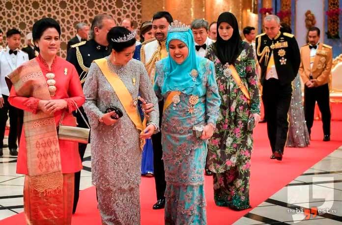 Бруней - одна из стран где разрешено многожёнство