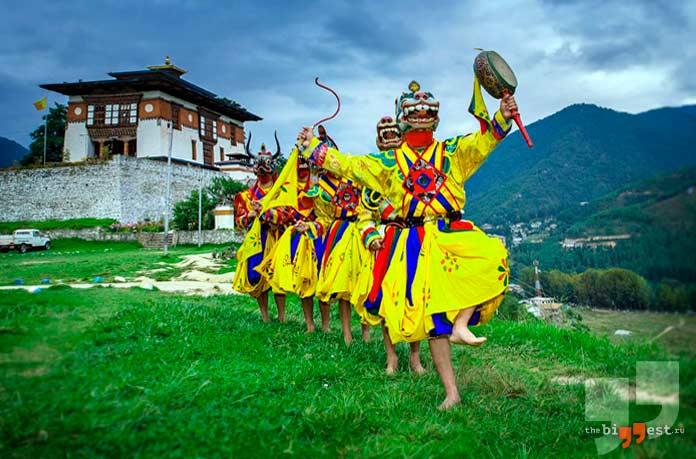 Бутан - одна из самых закрытых стран мира
