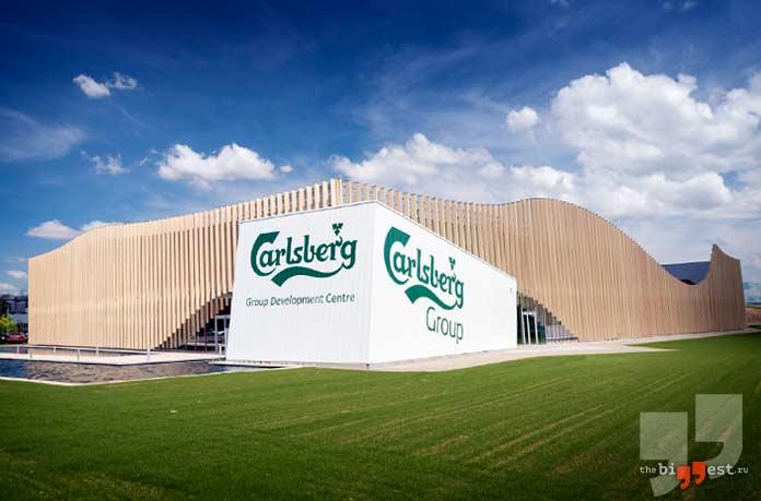Самые большие пивоваренные компании: Carlsberg. Дания