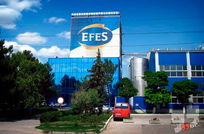 Efes Group. Турция