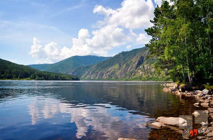Самые глубокие реки России: Енисей. СС0