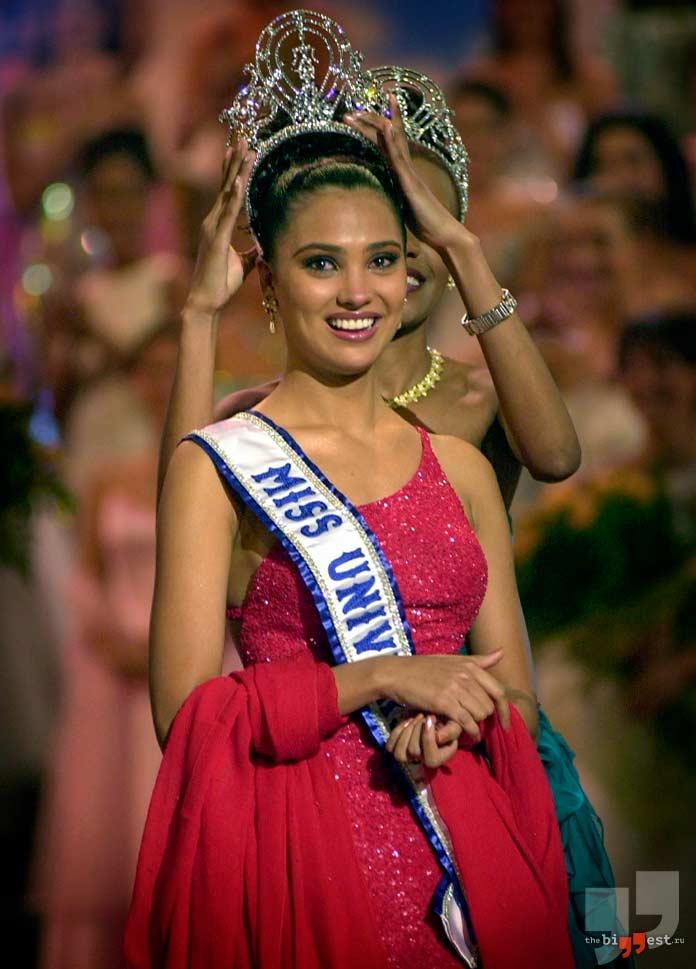 Лара Датта - победительница конкурса Мисс Вселенная в 2000 году