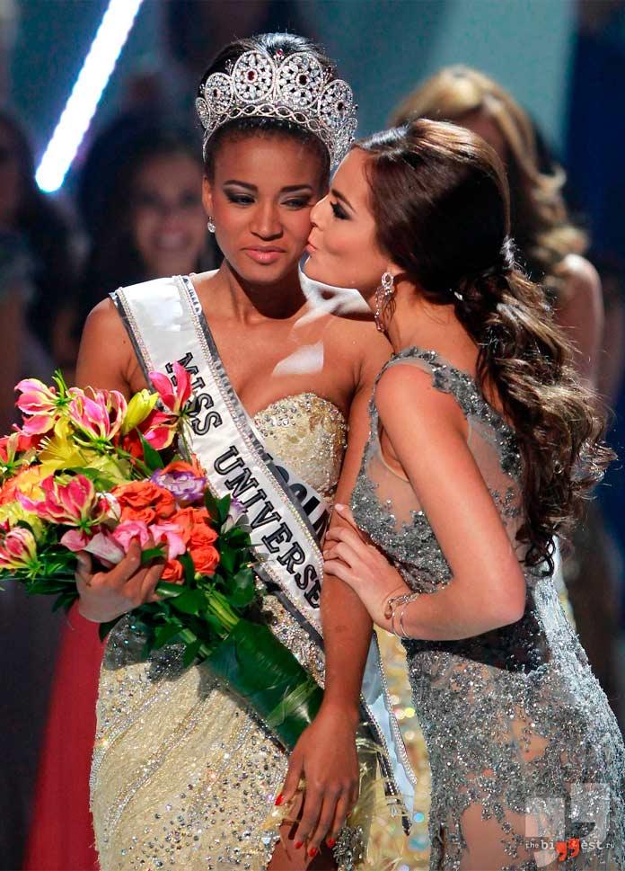 Победительница конкурса Мисс Вселенная в 2011 году: Лейла Лопес