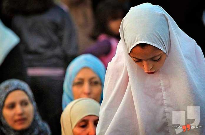 Сирия - одна из стран где разрешено многожёнство