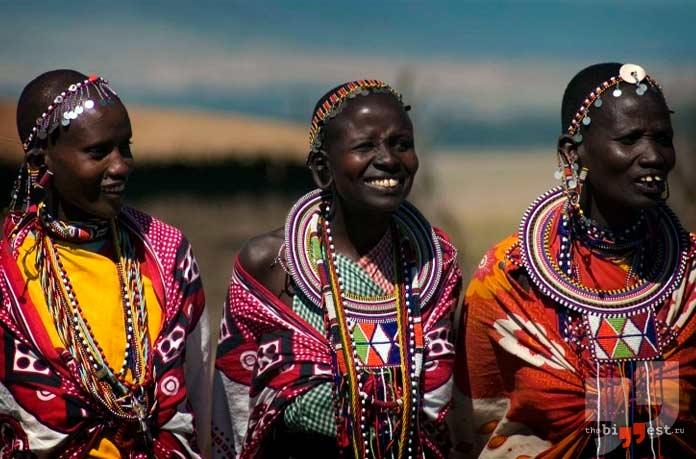 Танзания - одна из стран где разрешено многожёнство
