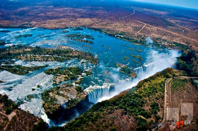 Самые глубокие реки: Замбези