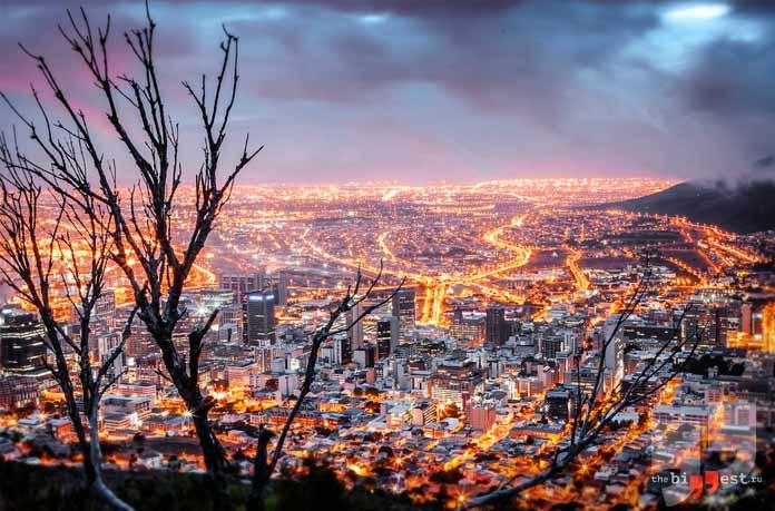 Крупные Африканские города. СС0