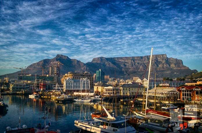 Крупнейшие города африки: Кейптаун. СС0