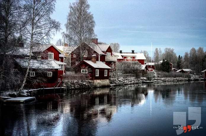 Чистая водопроводная вода присутствует в Швеции. СС0