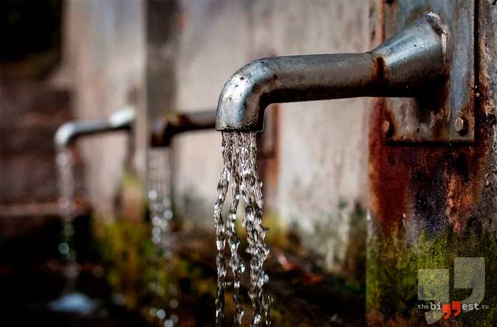 Чистая водопроводная вода. СС0