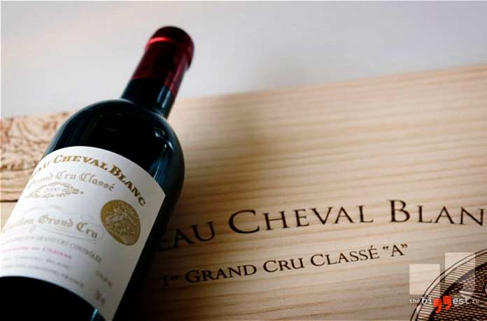 Очень дорогое вино: 1947 French Cheval-Blanc