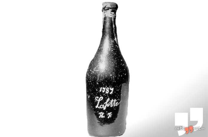 Очень дорогое вино: Chateau Lafite 1787