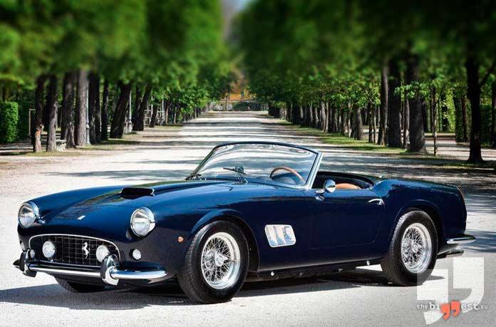 самые дорогие автомобили: Ferrari 250 GT «California Spider SWB»