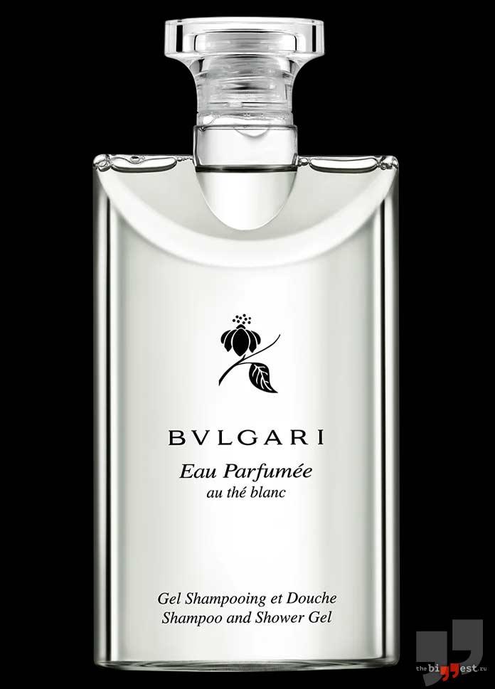 Bvlgari Eau Parfumee Au The Blanc Shampoo And Shower Gel