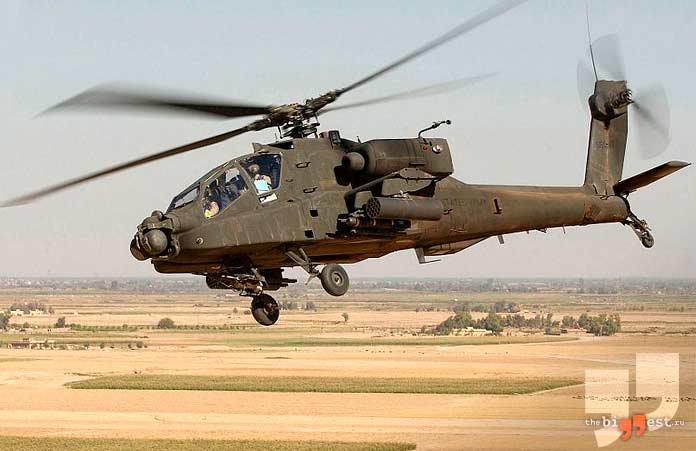 Самые дорогие вертолёты: Boeing AH-64 Apache. CC0