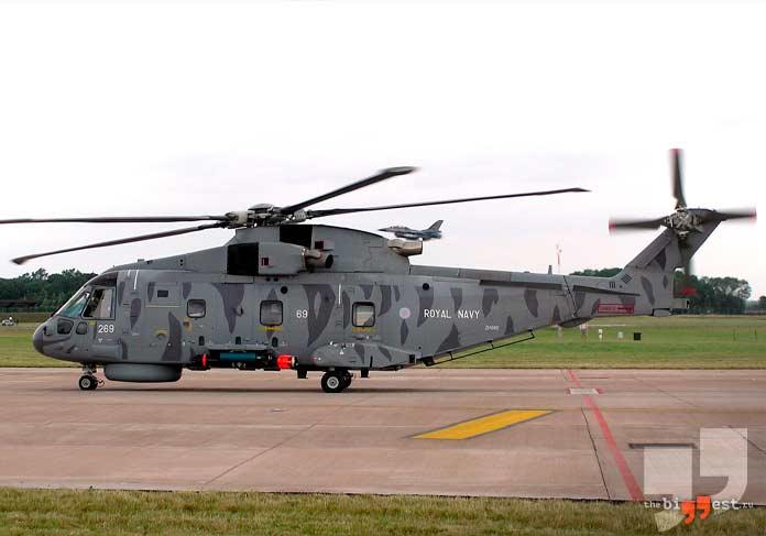 AgustaWestland AW101. CC0