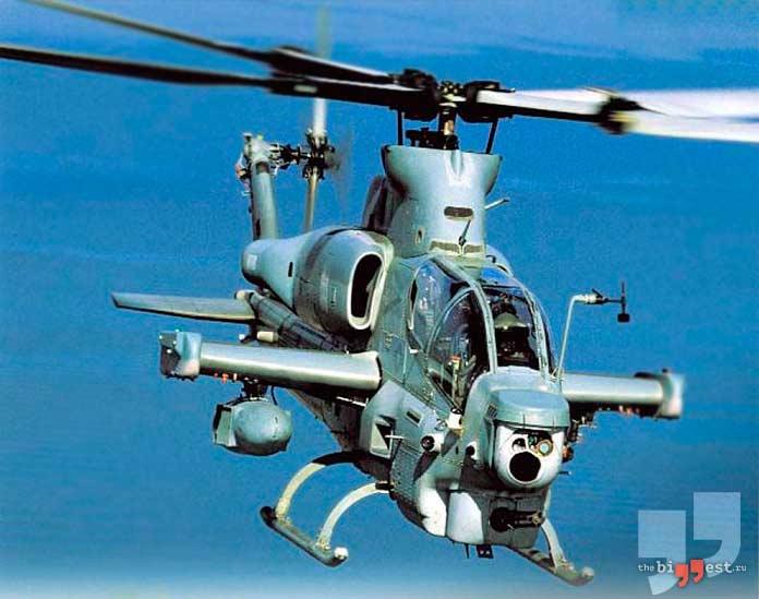 Самые дорогие вертолёты: Bell AH-1Z Viper. CC0
