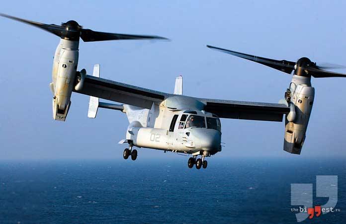 Самые дорогие вертолёты: Bell Boeing V-22 Osprey. CC0