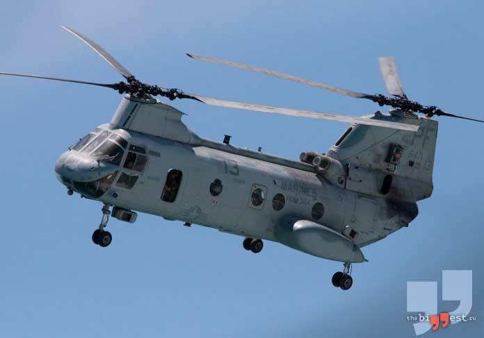 Boeing CH-47 Chinook. CC0