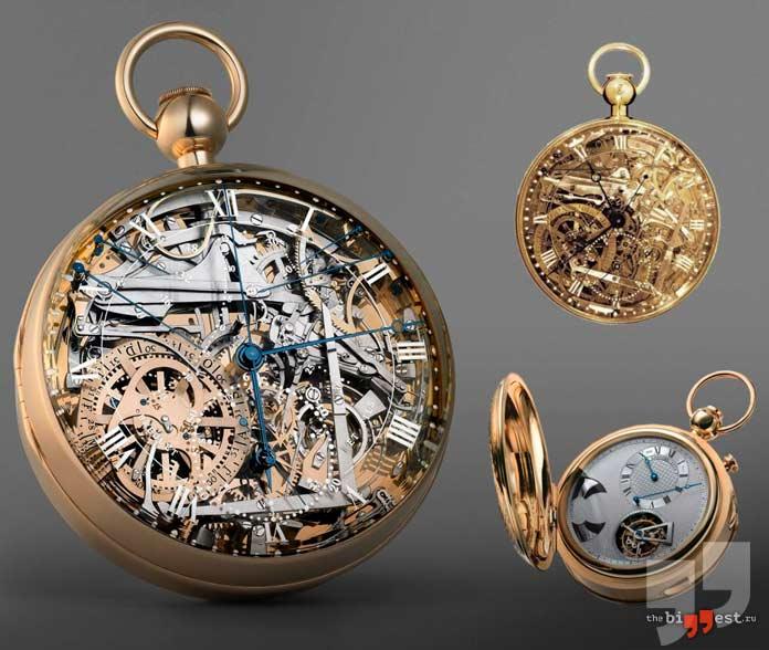 Очень дорогие часы: Breguet Grande Complication Marie-Antoinette