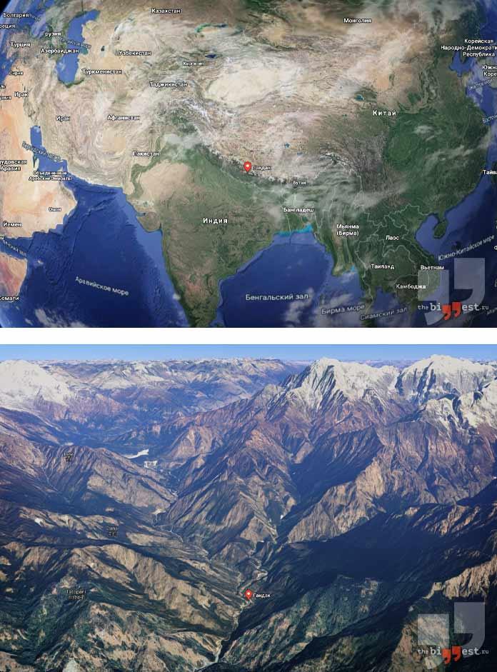 Самые глубокие каньоны мира: Кали Гандаки