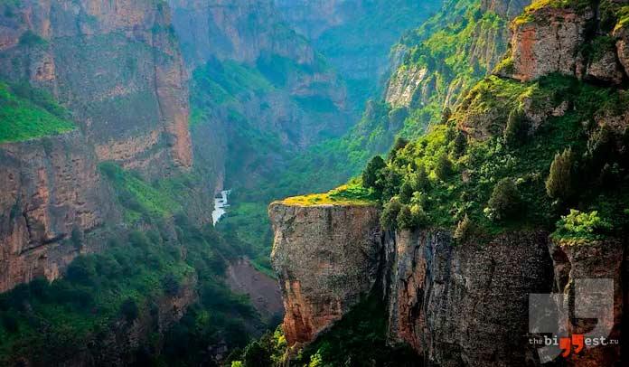 Самые глубокие каньоны мира. CC0