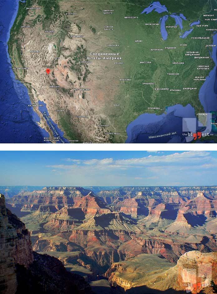 Самые глубокие каньоны мира: Гранд каньон. CC0