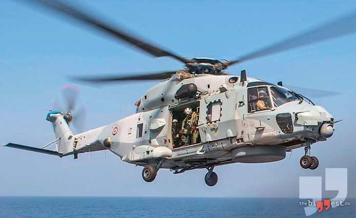 Самые дорогие вертолёты: NH Industries NH90 NFH. CC0
