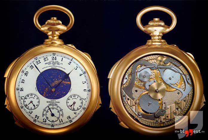 Очень дорогие часы: Patek Philippe Henry Graves Supercomplication