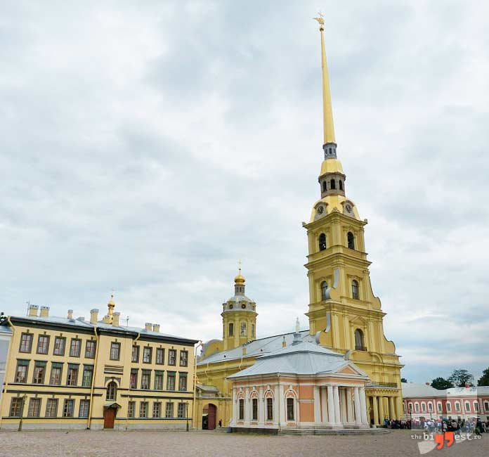 высокие христианские храмы: Петропавловский собор. CC0