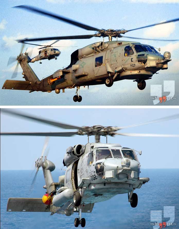 Самые дорогие вертолёты: Sikorsky SH-60B Seahawk. CC0