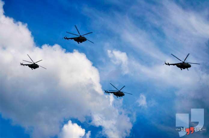 Вертолёты. CC0