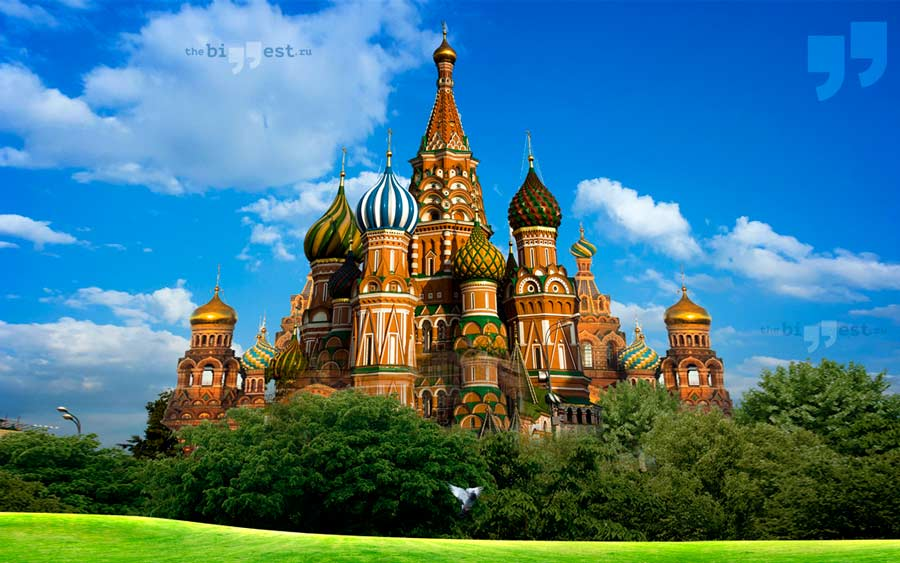 Высокие христианские храмы. CC0