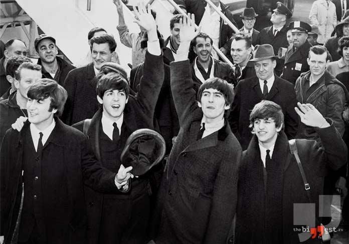 самые известные рок-группы: The Beatles. CC0