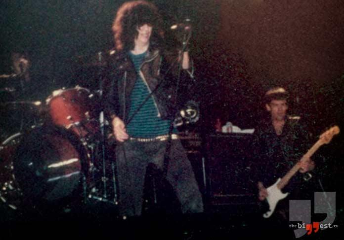самые известные рок-группы: The Ramones. CC0