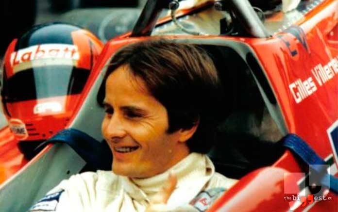 Известные гонщики, которые погибли во время автогонок: Жиль Вильнёв