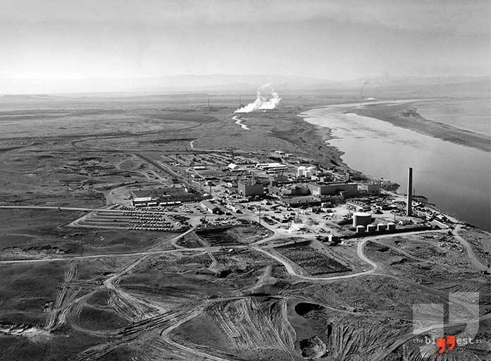 Самые радиоактивные места планеты: Хэнфордский комплекс. cc0