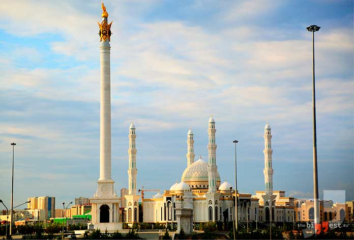 Бывшие республики СССР: Казахстан. cc0