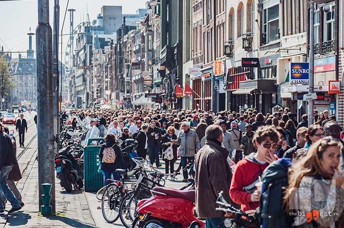 Нидерланды. Высокие люди. cc0