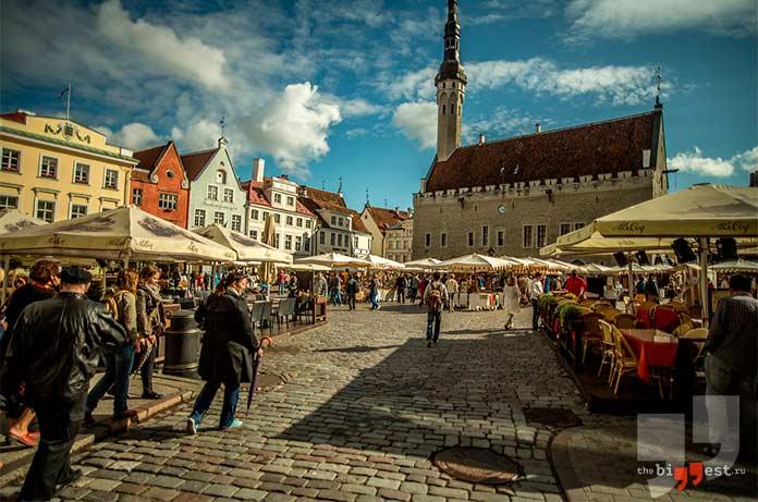 Список стран, в которых живут самые высокие люди. Эстония. cc0