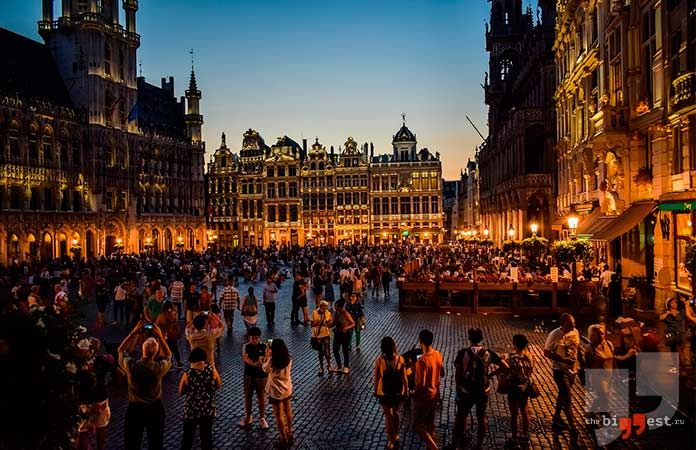 Бельгия. Список стран, в которых живут самые высокие люди. cc0