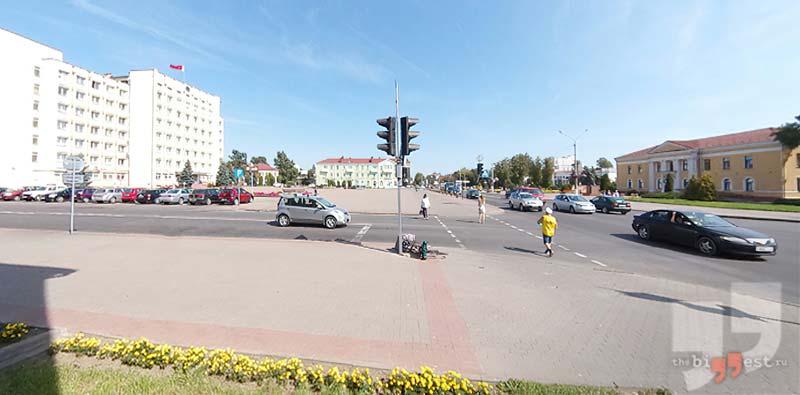 Слуцк / Google maps
