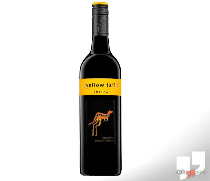 Популярные винные бренды: Yellow Tail