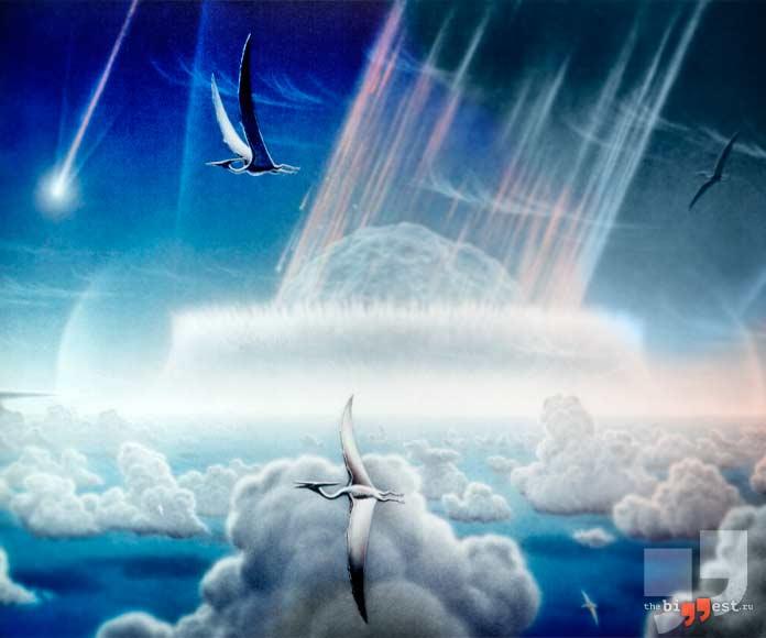 Астероид - одна из причина массовых вымираний. cC0