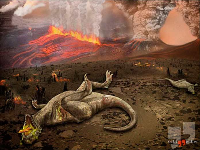 Пермское массовое вымирание. CC0