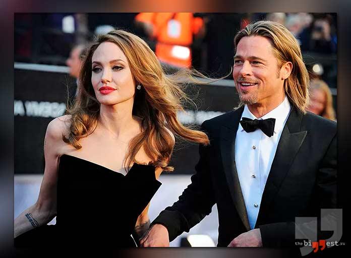 Один из громких звёздных разводов в истории: Брэд Питт иАнджелина Джоли